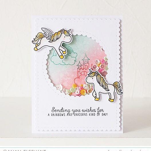 Showcasing Unicorns and Rainbows set on @heymamaelephant blog today! И еще одна…