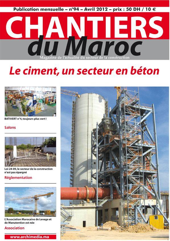 Chantiers du Marcoc, Magazine de l'actualité du secteur de la construction au Maroc