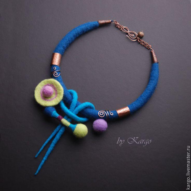 Колье, бусы ручной работы. Ярмарка Мастеров - ручная работа Колье Оsami. Handmade.