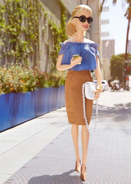 ¡Inspírate en Barbie con estos 5 looks Pre Fall!