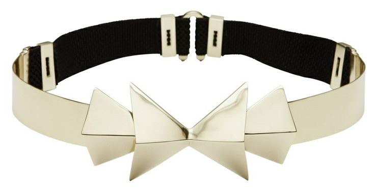 """Metal """"Inventor"""" belt by Sass and Bide"""