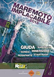 """San Benedetto del Tronto. Ex Galoppatoio: """"Maremoto 2015″, rassegna Rock con ospiti """"Giuda"""""""