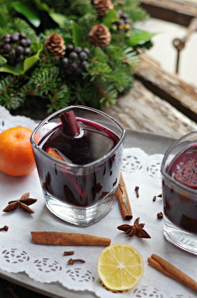 Kuhano Vino (or mulled wine) is a staple here in Slovenia. This spiced wine is the perfect thing to warm you up on a cold day. Uses honey instead of sugar.