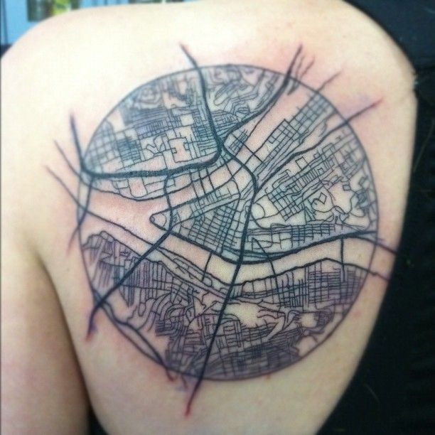 40 best maps as tattoos images on pinterest map tattoos tatoos pittsburgh tattoo hall of fame classy edition pittgirl february 2014 pittsburgh gumiabroncs Image collections