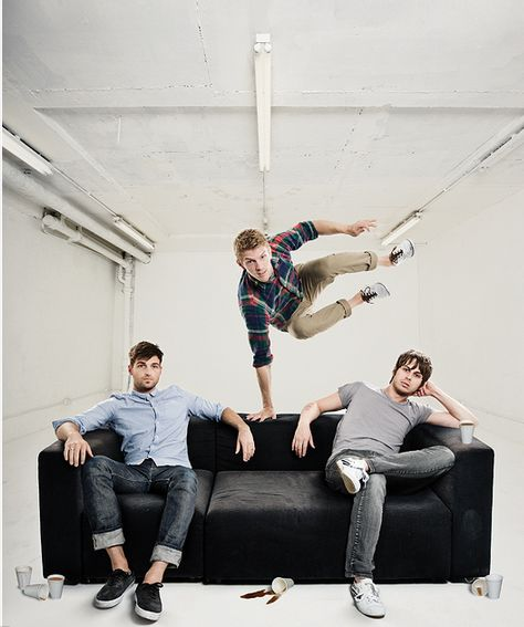 Foster The People plus awesome space = epic band photos :)