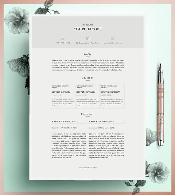 Creative Resume Template Editable in MS Word and by CvDesignCo - fun resume templates