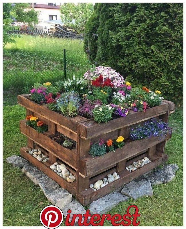 52 Cheap Diy Garden Ideas Everyone Can Do It 52 Cheap Diy Garden Ideas Everyon Pallet Projects Garden Raised Garden Beds Diy Diy Raised Garden