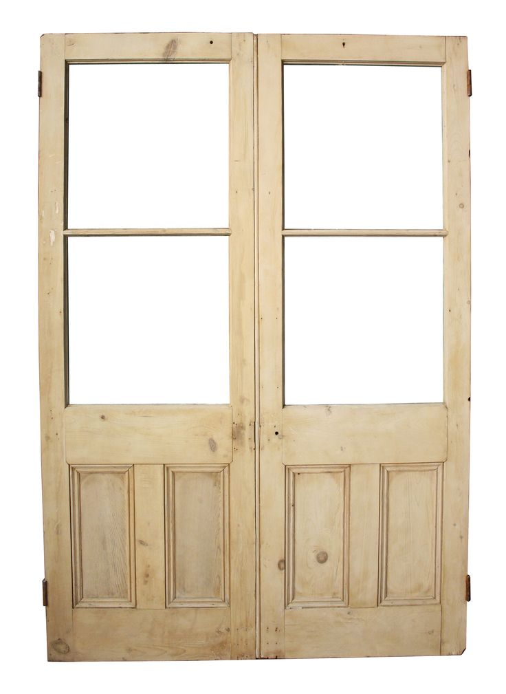 PAIR OF ANTIQUE STRIPPED PINE FRENCH DOORS - UK Architectural Heritage  sc 1 st  Pinterest & 220 best Reclaimed Antique Doors images on Pinterest | Antique doors ...