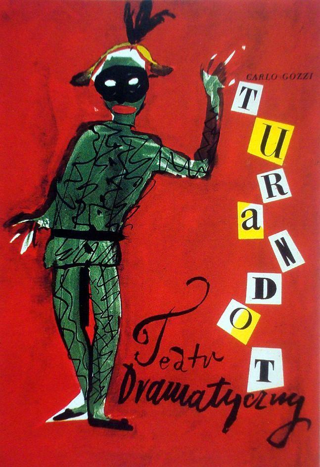 Henryk Tomaszewski -  Turandot, 1958