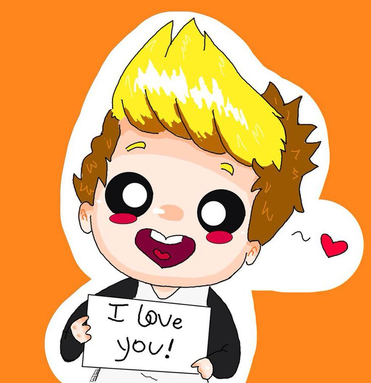 i love you too non of this drawings belong to me