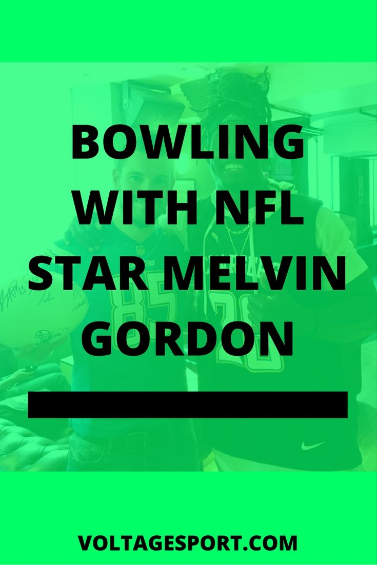 The time when we went bowling with NFL start and San Diego Chargers running back Melvin Gordon in London! Click through to read more!