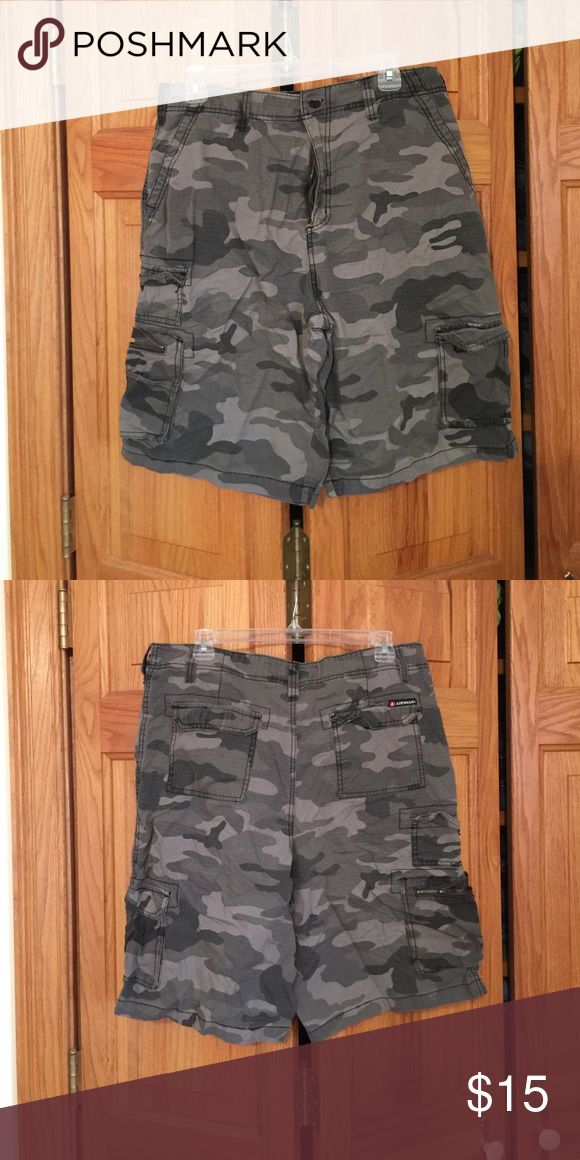 Men's Camouflage shorts Men's camouflage shorts Airwalk Shorts Cargo