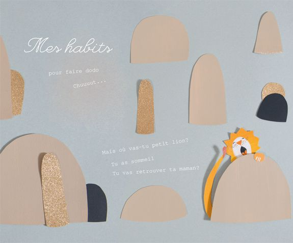 Mes habits pour faire dodo - Collection les petits habits automne-hiver 2016-2017 - Les Papoum - Moulin Roty