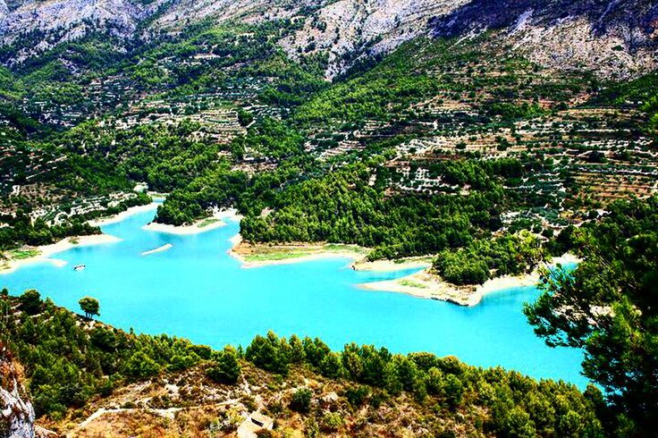 Spain travel guadalest castell