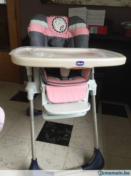 Chaise haute Chicco - A vendre à Pontà-Celles Luttre