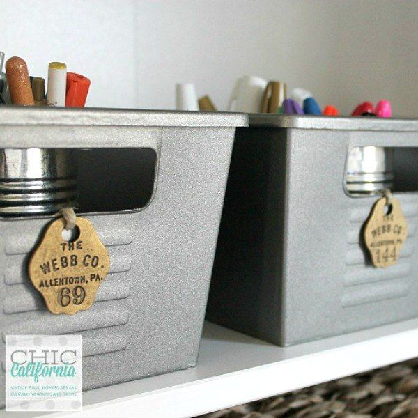 You know these cheap Dollar Store bins and baskets? Use them to make your home the most organized space ever with these: