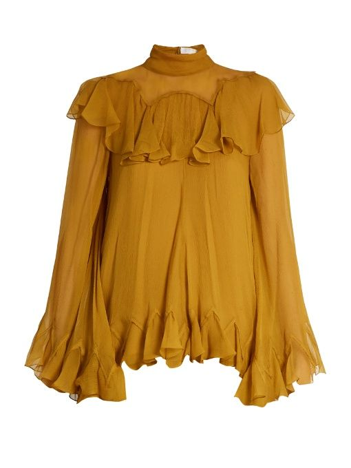 Return to the Ruffle With These Feminine Tops. Add an ounce of flounce this spring. By Ashley Phillips. Jan 14, The ruffle is on the rise! ASOS has the peasant top on lock with this ruffled blouse. Wear with wide-legged jeans to get in on the '70s trend, or shorts and a .