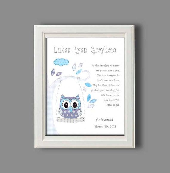 17 best images about christening and baptism gifts on pinterest godchild nursery art and - Gifts for baby christening ideas ...