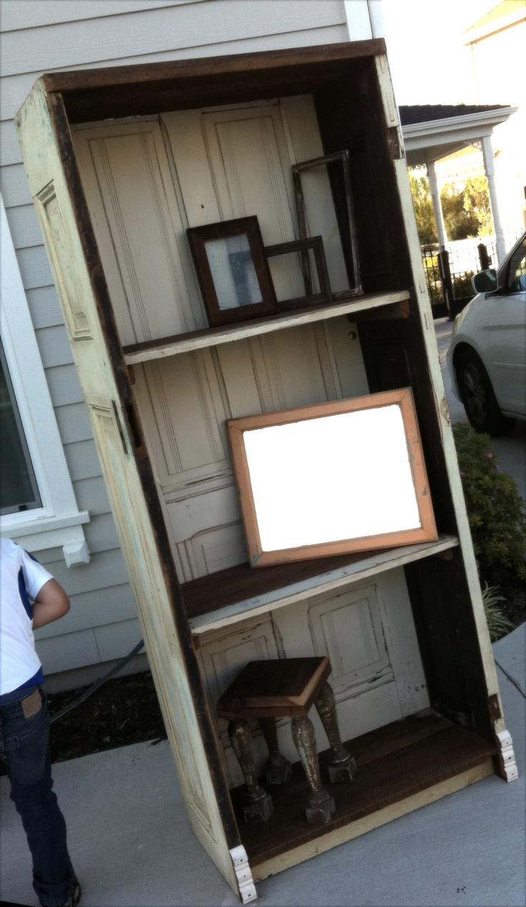 Closet Door Repurpose