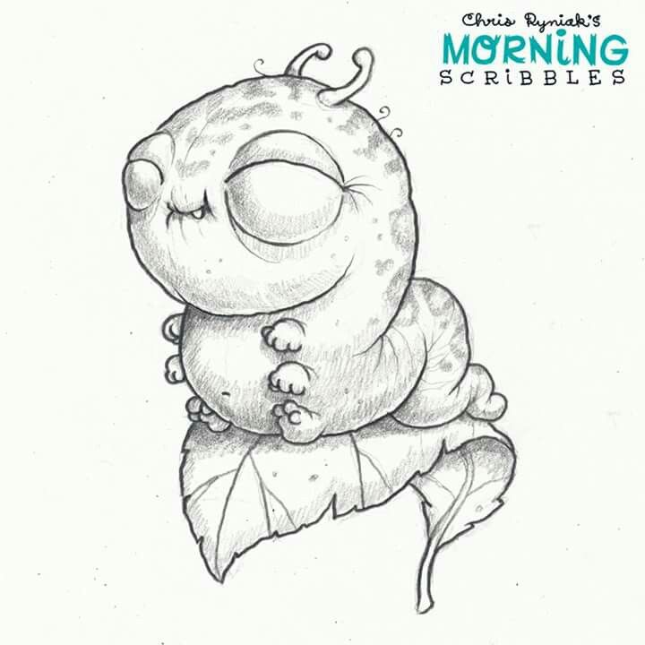 Scribbles Drawing And Coloring Book : Morning scribbles chris ryniak zeichnungen pinterest