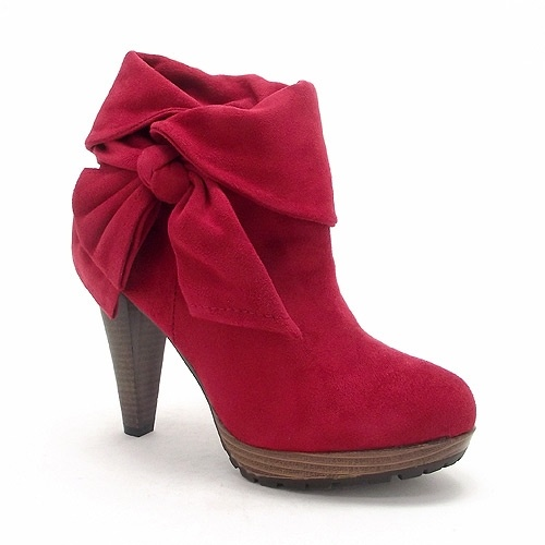 'Matilda' Ladies red ankle boot .. I just feel like Dorethy when I have these on with my little black dress and printed tights.. In this case My feet definitely  do the talking !!