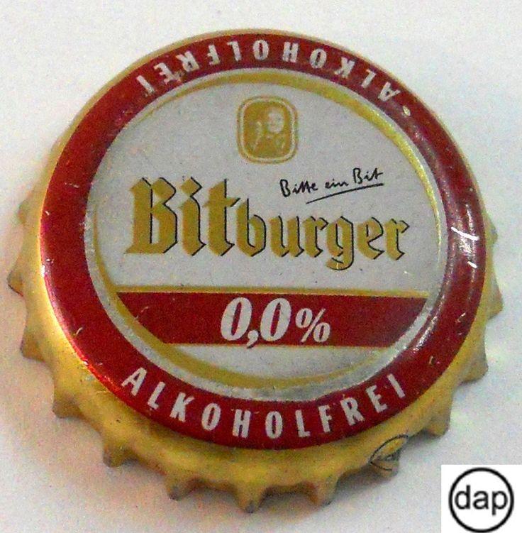 Tapa de botella: Bitburger Alkoholfrei (Bitburger Brauerei Th. Simon GmbH, Alemania) Col:BE-DE-0875
