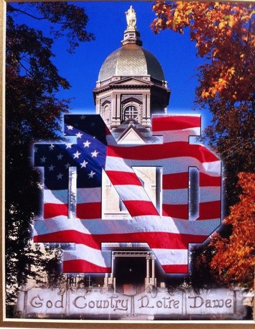 Notre Dame... God Country