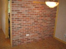 1000 Ideas About Brick Veneer Wall On Pinterest Thin