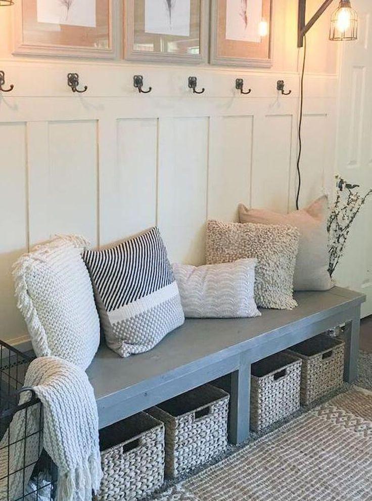 Rustic farmhouse decor ideas on a budget (46)