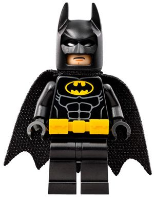 sh312: Batman - Utility Belt, Head Type 1