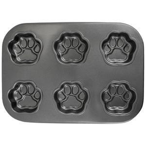 Paw Print Muffin Pan Baking Pans Cat Paw Print Cat Paws