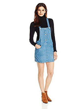 Levi's Women's Skirtall, Hilltop Blue, Small by Levi's for $39.99 http://amzn.to/2gwKx8l