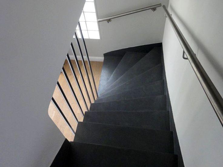 les 17 meilleures images du tableau escalier beton sur pinterest escaliers escalier beton et. Black Bedroom Furniture Sets. Home Design Ideas