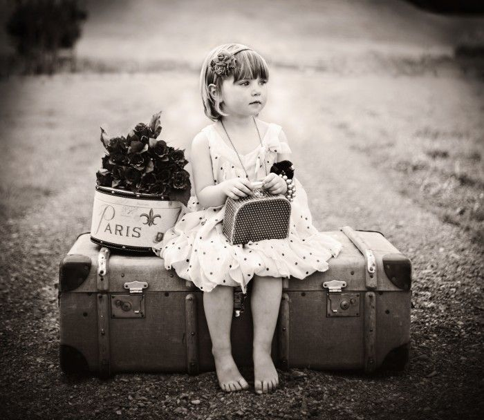 Young Lady Travelling to Paris by Katharina Hooper Smith | onemillionphotographers