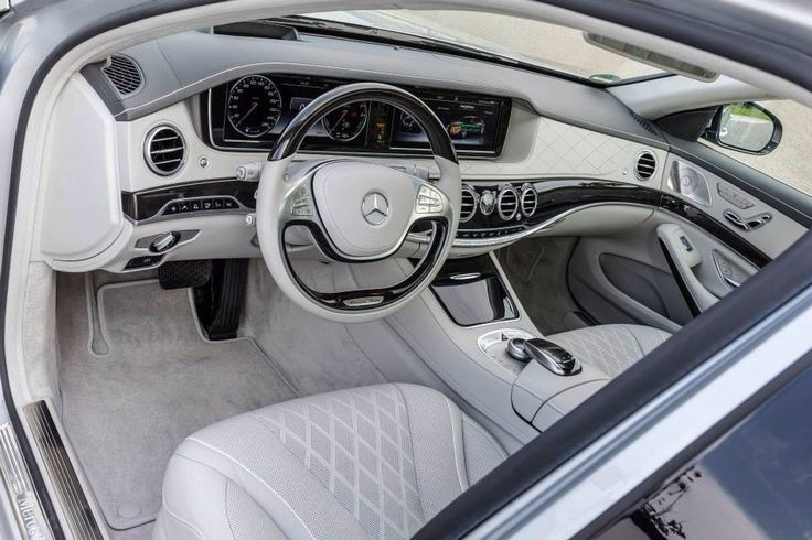 Beautiful interior of the new Mercedes Benz S550 Plug-in Hybrid