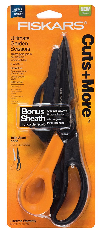 Fiskars 3569221003 Cuts and More Titanium Shear -- Check this awesome image  : Fiskars garden tools