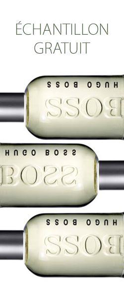 Échantillon de parfum Boss Bottled pour homme.  http://rienquedugratuit.ca/produits-de-beaute/parfum-boss-bottle-homme/