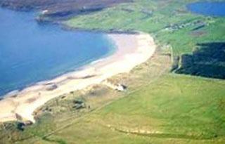 White Sandy Beach at Dunnet Bay