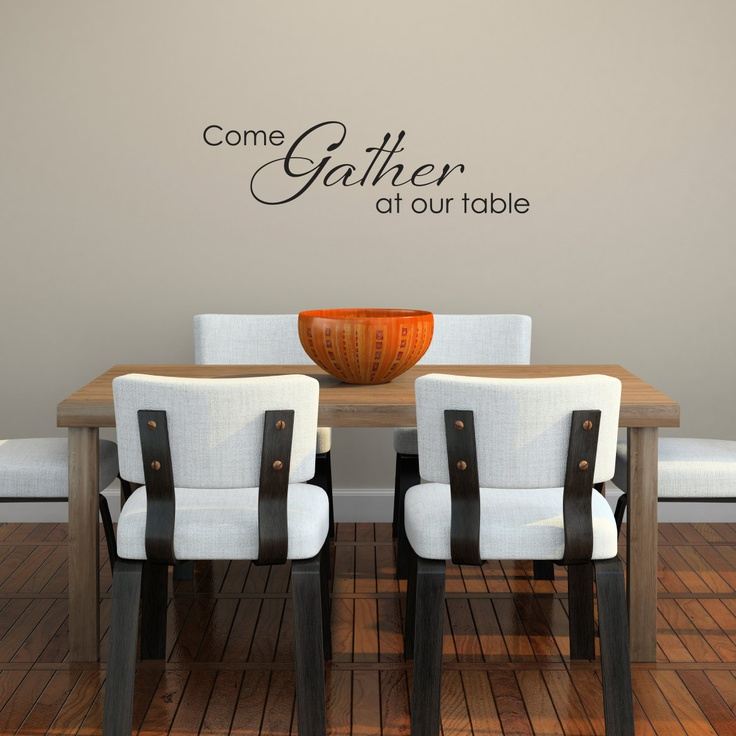 17 Best images about Ideas for dining room wall decor on
