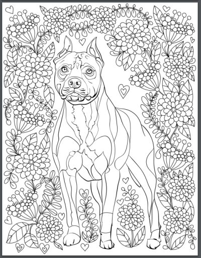 217 best dogs to color images on Pinterest Coloring books - best of coloring pages baby dog