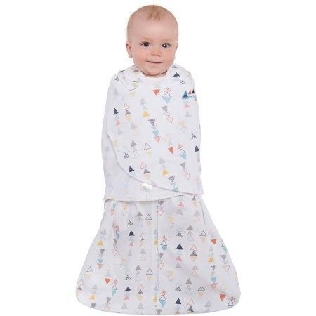 HALO SleepSack Swaddle 100% Cotton- Multi Color Triangle