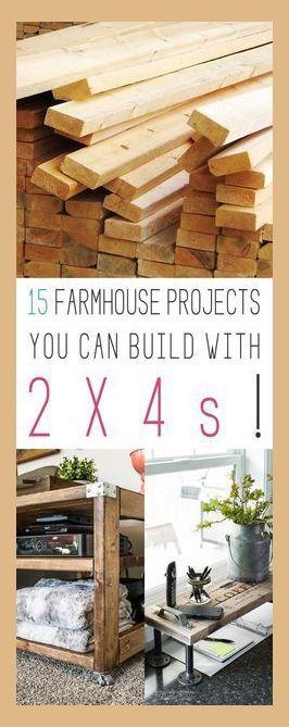 Holzbearbeitungsprojekte am Nachmittag >> 15 Bauernhausprojekte, die Sie mit 2X4s bauen können | Anders …