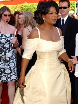 Oprah Winfrey Looked Regal In This Canary Yellow Gown 2002