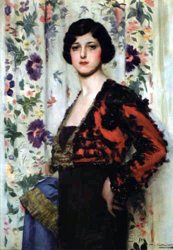 Ramón Casas i Carbó - Mujer con torera.1915.