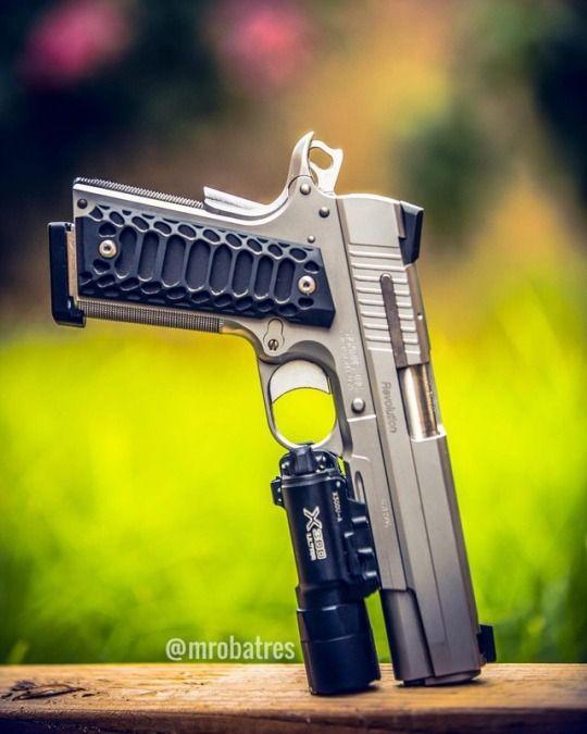 Sig Sauer 45 - awesome grip! http://riflescopescenter.com/category/hawke-riflescope-reviews/