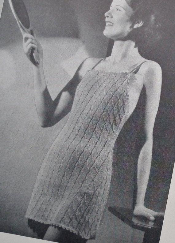 Vintage 1930s needlecrafts magazine  The by sewmuchfrippery