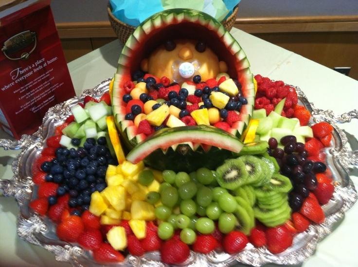 Baby Fruit Basket Baby Shower Ideas Pinterest Babies