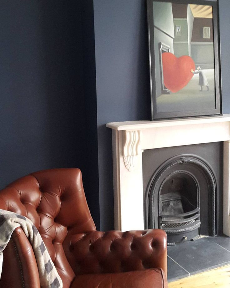 """@rosiesmith31 on Instagram: """"After 5 months we finally have a lounge! #stiffkeyblue #myhome #london #nomorepaintingplease"""""""