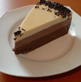 TARTA TRES CHOCOLATES    Aqui teneis la receta de la famosa tarta tres chocolates de isasaweis (www.isasaweis.com) que más de uno ha probad...