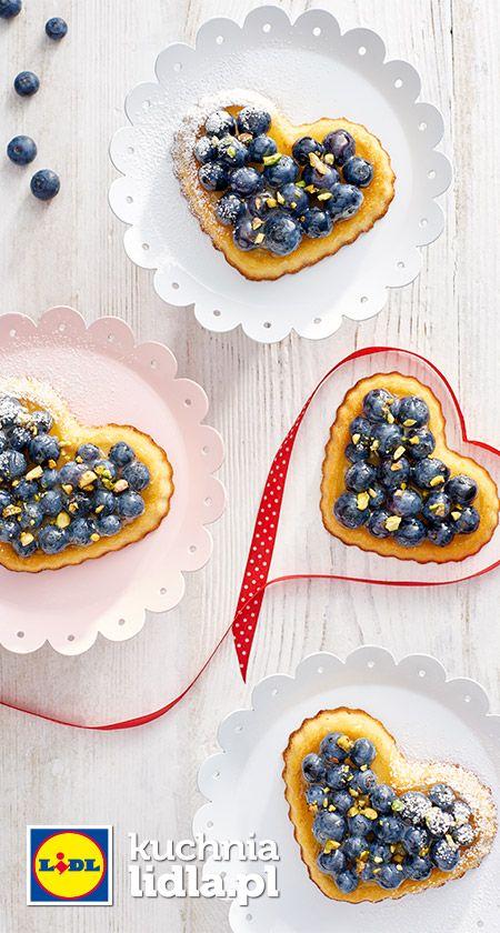 Pomarańczowo-borówkowe serduszka dla mamy. Kuchnia Lidla - Lidl Polska. #lidl #pawel